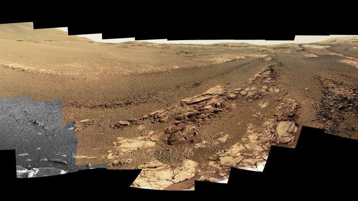 NASA a publicat ultima imagine transmisă pe Pământ de robotul Curiosity de pe planeta Marte (FOTO)