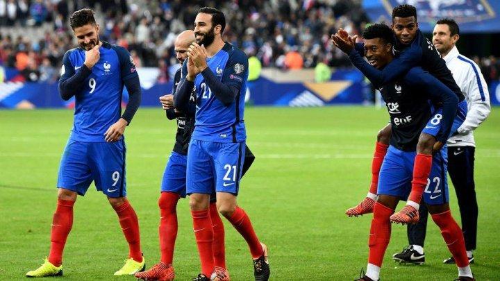 Franţa vine la Chişinău cu toate vedetele campioanei mondiale, inclusiv Griezmann şi Mbappe