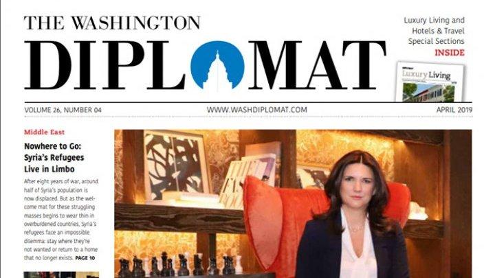CRISTINA BĂLAN, pentru The Washington Diplomat: Guvernarea de la Chișinău SPRIJINĂ PARCURSUL EUROPEAN al țării, dar o nouă coaliției este necesară pentru CONTINUAREA REFORMELOR