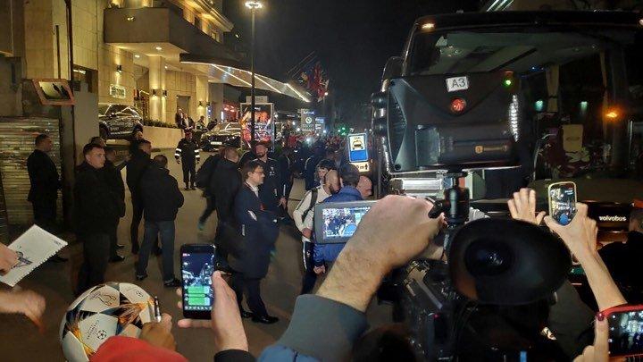 Echipa națională a Franței a ajuns la Stadionul Zimbru. Cum a fost întâmpinată de fani (VIDEO)