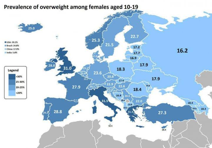 STUDIU: Fetele din Republica Moldova sunt cele mai suple femei din lume