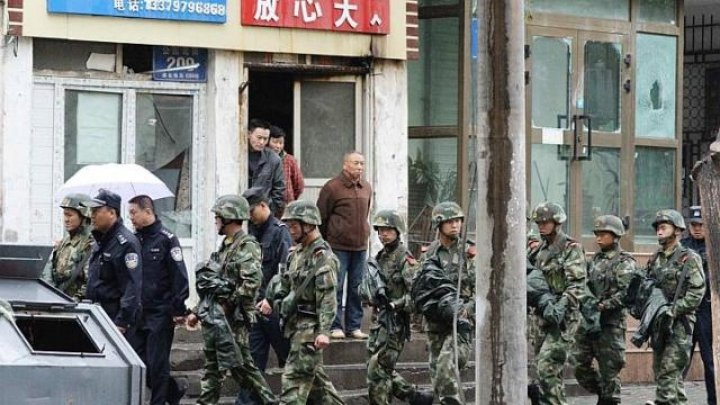 China susţine că a arestat aproape 13.000 de terorişti din 2014