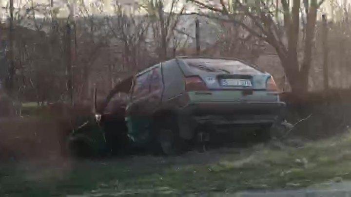 ACCIDENT VIOLENT la Strășeni. Mai multe mașini au fost avariate. Ambulanța, la fața locului (VIDEO)