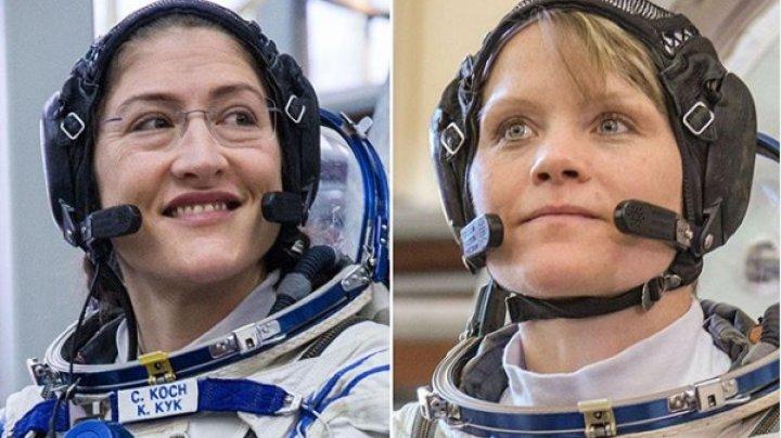 Nu au cu ce se ÎMBRĂCA. Motivul pentru care NASA anulează prima misiune cu echipaj exclusiv feminin