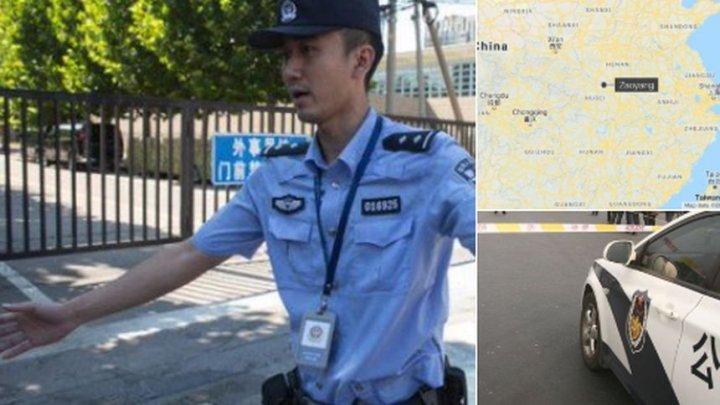MASACRU ÎN CHINA. O maşină a intrat intenţionat în mulţime şi a omorât ŞASE PERSOANE. Şoferul a fost ÎMPUŞCAT