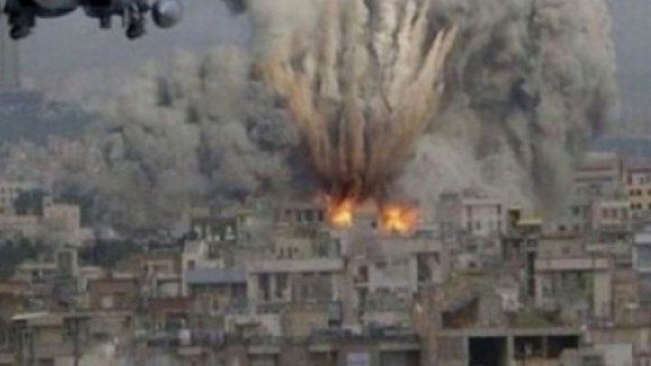 Ultimul sat controlat de ISIS, ţinta unor bombardamente intense