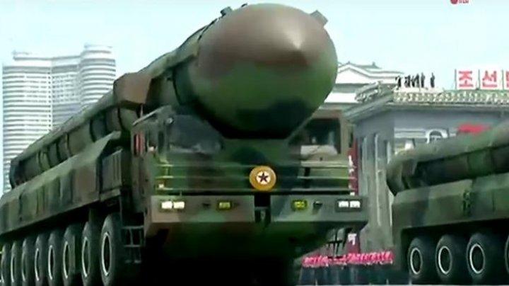Coreea de Nord ar putea pregăti un nou tir de rachetă