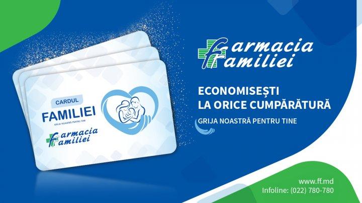 Farmacia Familiei îți răsplătește fidelitatea și lansează CARDUL FAMILIEI
