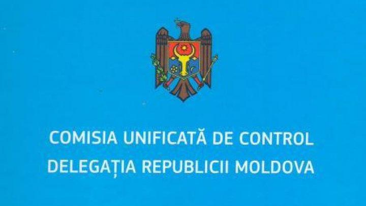 """Comisia Unificată de Control: Tiraspolul NEAGĂ în continuare ilegalitatea posturilor """"grănicereşti"""""""