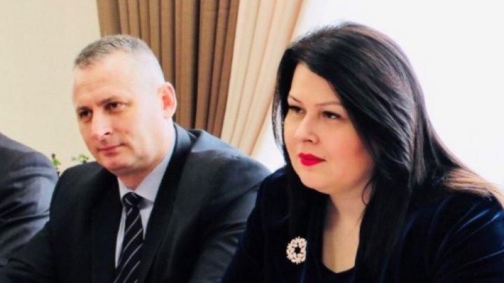 Viceprim-ministrul pentru reintegrare, Cristina Lesnic a discutat Șeful Misiunii OSCE în Republica Moldova, Claus Neukirch