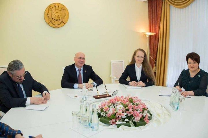 Pavel Filip: Moldova acordă o atenție deosebită cooperării bilaterale, iar SUA este un partener strategic al țării noastre (FOTO)