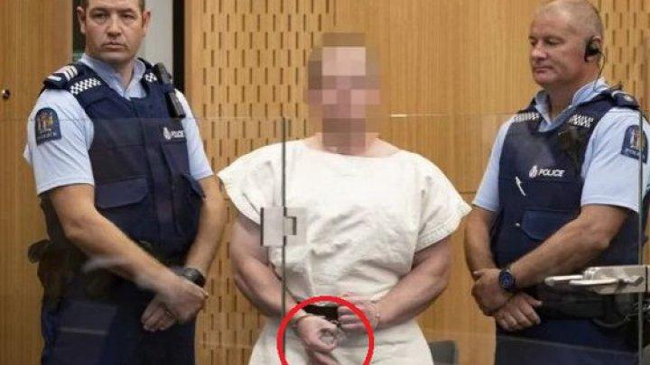 Atacatorul din Noua Zeelandă a făcut un GEST PROVOCATOR în faţa judecătorilor