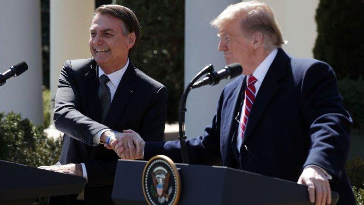 Brazilia, potenţială ţară care va intra în NATO. Declaraţia a fost susţinută de Donald Trump