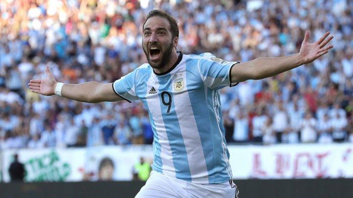 Gonzalo Higuain se retrage de la echipa națională de fotbal a Argentinei