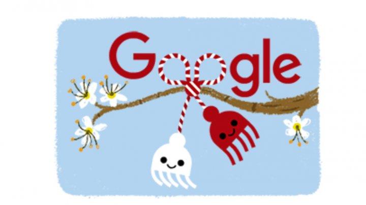 Doodle special de la Google, de 1 Martie