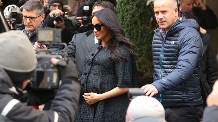 Meghan Markle a intrat în concediu prenatal. Nu va participa la niciun eveniment până după naşterea copilului
