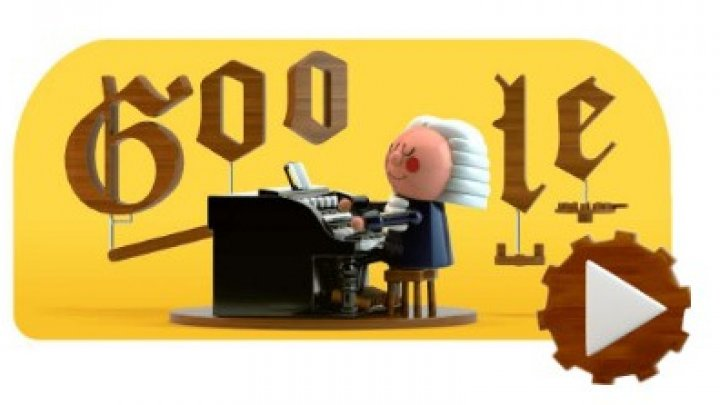 Google îl celebrează pe Johann Sebastian Bach printr-un Google Doodle