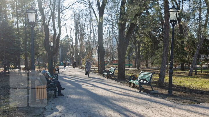 Mărţişoare confecţionate manual de angajaţii Muzeului Naţional de Etnografie, în dar pentru oamenii care s-au plimbat prin parcul central al Capitalei (FOTOREPORT)