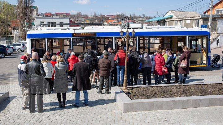 Veste bună pentru locuitorii din Bubuieci. Aceștia vor putea merge până acasă cu troleibuzul (FOTOREPORT)
