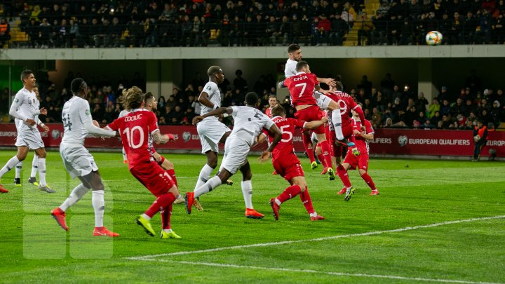 Meciul anului Moldova-Franţa: Ce au declarat după meci Oliver Giroud şi Alexandru Spiridon