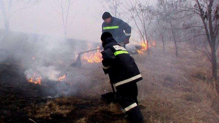 Moldova, cuprinsă de FLĂCĂRI. În ultimele 24 de ore, pompierii au intervenit la stingerea a 56 de incendii