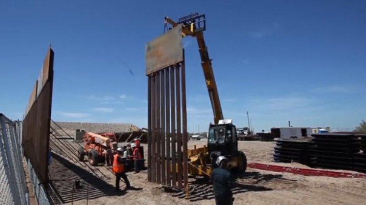 Pentagonul a deblocat un miliard de dolari pentru ridicarea zidului de la frontiera cu Mexicul