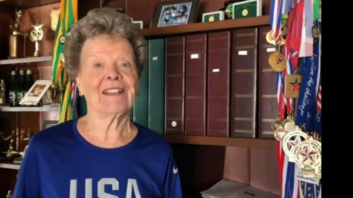 SPORTUL NU ARE VÂRSTĂ. O americancă de 84 de ani va evolua la mondialul de atletism între veterani