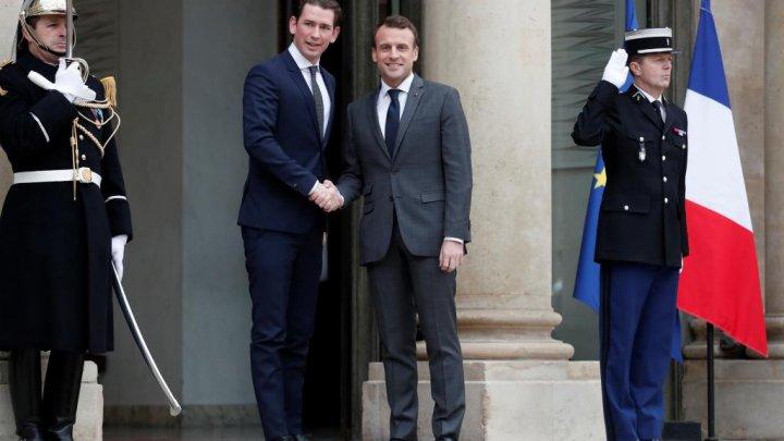 Cancelarul austriac critică propunerile preşedintelui francez cu privire la Uniunea Europeana