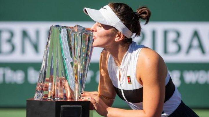 Victorie pentru Bianca Andreescu. Aceasta câştigă Indian Wells după lupta cu Angelique Kerber