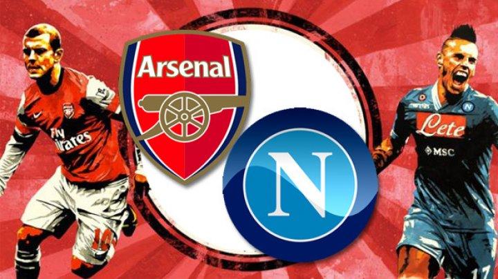 Napoli - Arsenal, meci infernal. La Nyon a avut loc tragerea la sorţi a sferturilor UEL