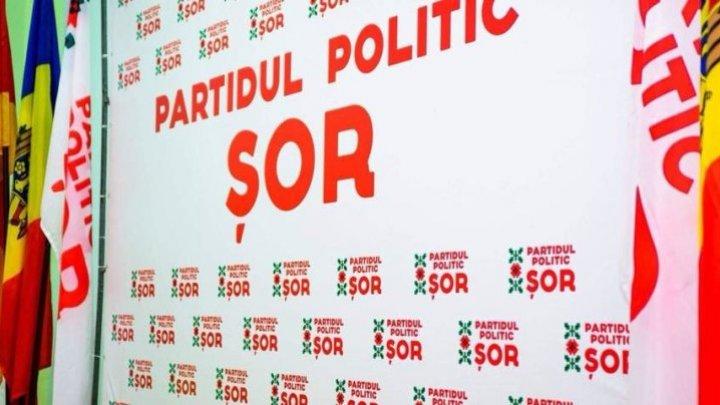 Partidul Șor anunță că fracțiunea parlamentară se va plasa în opoziție în noul Parlament