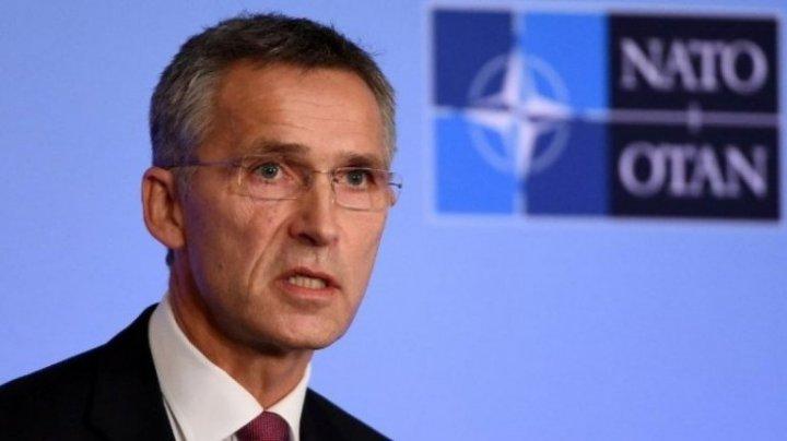 Stoltenberg a reiterat angajamentul NATO privind includerea Georgiei în rândurile sale