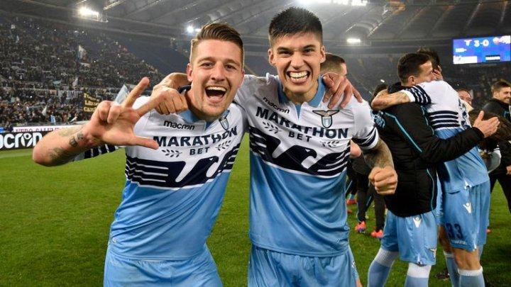 Lazio a făcut spectacol în derby-ul cu AS Roma