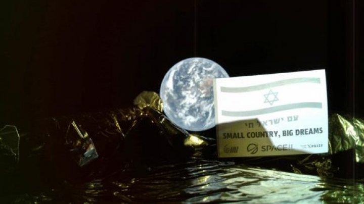 Prima misiune spaţială israeliană spre Lună: Beresheet a trimis un selfie cu Pământul
