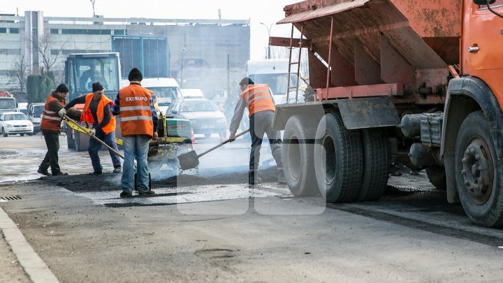 Concurs privind achiziționarea lucrărilor de reparație a străzilor secundare, a trotuarelor și a curților de blocuri