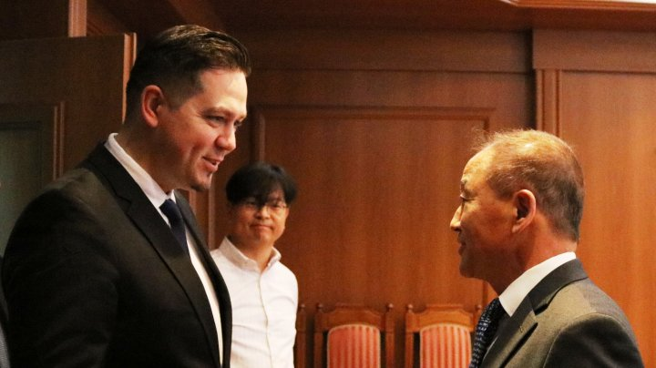 Tudor Ulianovschi, în discuţie cu Ambasadorul Coreei de Sud: Seulul este cointeresat să investească în Moldova