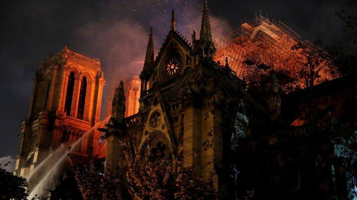 Fanaticii ISIS vin cu DECLARAŢII ŞOCANTE în legătură cu incendiul Catedralei Notre Dame (FOTO)