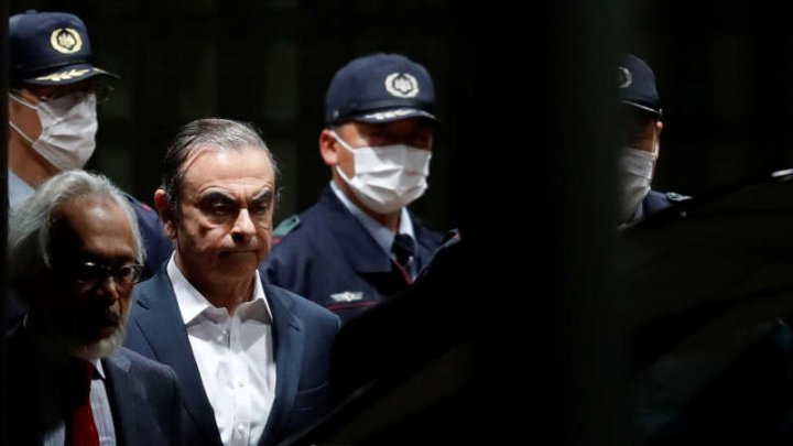 Carlos Ghosn a fost eliberat din închisoare, după ce a plătit o cauţiune de 4,5 milioane de dolari