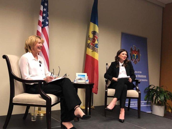 CRISTINA BALAN: Republica Moldova începe să fie cunoscută în SUA