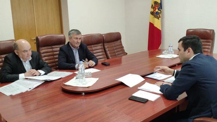 Ministrul Chiril Gaburici în discuții cu reprezentanții companiei Evrascon