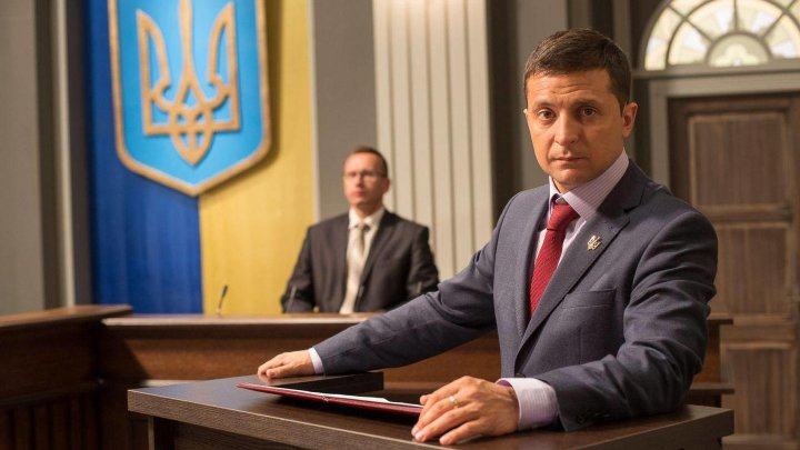 Actorul Vladimir Zelenski a devenit președintele Ucrainei (GRAFICA)
