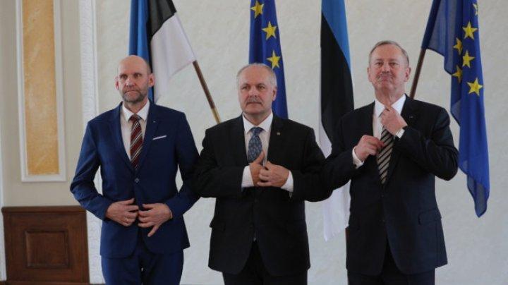 Henn Polluaas a devenit preşedintele parlamentului estonian