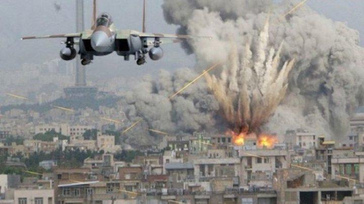 Lovituri aeriene comise în Idlib de avioane ale regimului sirian au ucis 12 civili