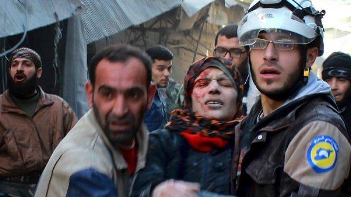 22 de civili sirieni au fost ucişi în urma unor tiruri de artilerie ale regimului în nordul ţării