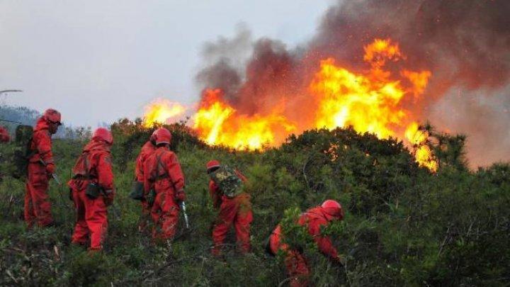 BILANŢ ÎNFIORĂTOR: Cel puţin 30 de pompieri şi-au pierdut viaţa într-un incendiu din China