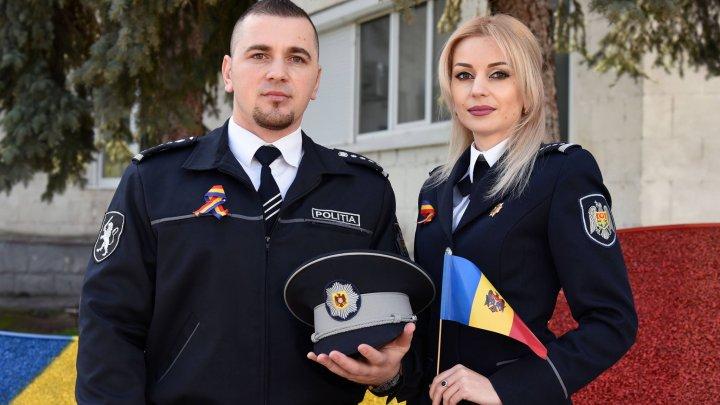 Poliţia Republicii Moldova, de Ziua Drapelului de Stat: Să-l cinstim, să-l iubim, să-l purtăm cu noi oriunde ne-am afla (FOTO)