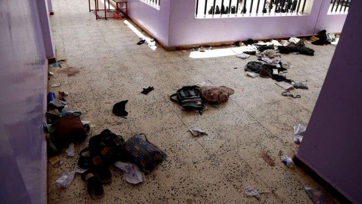 O explozie a luat viaţa a PAISPREZECE copii în Yemen. Încă 20 sunt în stare gravă