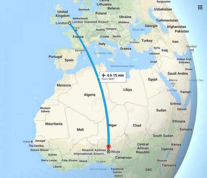 Milionarii din Nigeria comandă pizza de la Londra. Mâncarea este livrată de companiile aeriene (VIDEO)