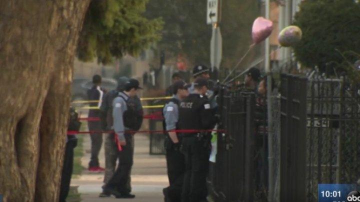 ATAC ARMAT ÎN CHICAGO. Şase oameni, inclusiv doi copii, au fost răniţi
