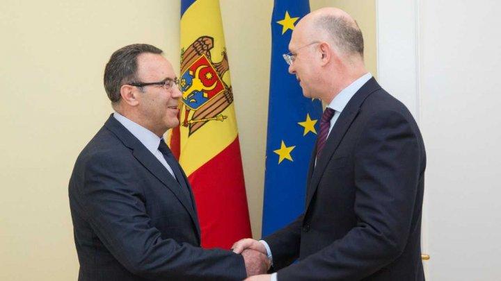 Perspectivele relațiilor bilaterale dintre Moldova şi Ucraina, discutate de Pavel Filip şi Ivan Gnatîşin